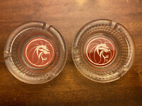 "Vintage MGM Grand Lion Hotel Casino Las Vegas NV Ashtray, Gambling, 4 1/2"", Nice"