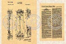 1960's SKATEBOARD Patent-Skate Board-Albert Boyden #581