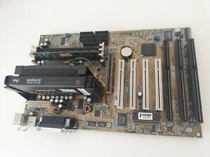 ASUS P2В Rev 1.04 Motherboard Slot 1  + Intel Pentium 2 350Mhz + RAM 64Mb works!