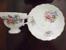 Fine Bone China Tea Cup and Saucer Set~England ~Floral bouquet