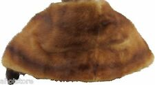 Mink Fur Stole Cape Wrap Vintage Lap Cover Mid Century 1940's
