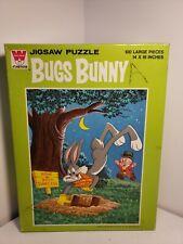 Bugs Bunny 100 Pc Puzzle Vintage 1963 Whitman Complete