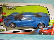 NEW! Maisto R/C ~ Remote Control Vehicle ~ 2017 Ford GT (Blue) 1:24 Scale