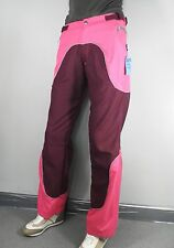 Maroon & Hot Pink Flared Trousers   Size M  Cosplay Psy Rave Festival