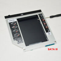 Universal SATA 3 III 2nd HDD SSD Hard Drive Caddy Case for 9.5mm Laptop DVD-ROM