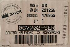 Taylor 067702 Ser Control Blended Ice C029