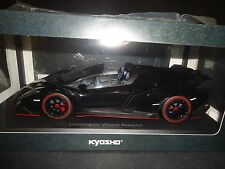 Kyosho Lamborghini Veneno Roadster Negro 09502bkr 1/18
