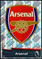 Match Attax 2018/19 Arsenal 19 Foil Rare Shiny Badge Card Premier League