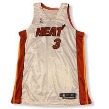 Vintage 2004-05 Dwayne Wade Miami Heat Adidas NBA Jersey Size 50