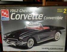 ATM ERTL 1962 Chevrolet Corvette convertible model kit