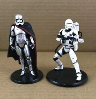 "Star Wars Force Awakens  4"" Figures Captain Plasma & Stormtrooper Disney Store"