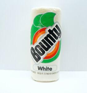 Vintage 1987 BOUNTY PAPER TOWEL White Roll Sealed Unopened NOS Original 60 Sq Ft