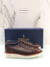 Tricker's Josh Sneaker In Pelle Marrone Fondo Vibram Flex 43 Luxury Shoes