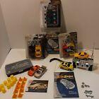 Zip Zaps Micro RC Car Bundle 3 Sealed Kits 2 Rc Cars Remote Tool Kit And More...
