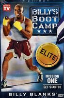 NEW FITNESS DVD // BILLY BLANKS // BOOT CAMP // MISSION ONE // GET STARTED