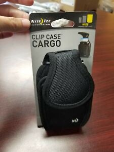 Universal NiteIze Rugged Clip Case Cargo Phone Pouch Wide -NEW
