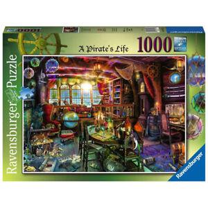 Ravensburger 1000 Piece Jigsaw Puzzle Aimee Stewart A Pirate's Life 69 x 49cm