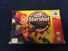 BOX ONLY! Starshot: Space Circus Fever N64 Nintendo 64 Authentic!
