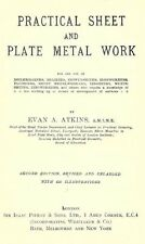 Practical Sheet and Plate Metal Work - by Evan Atkins - Book on CD