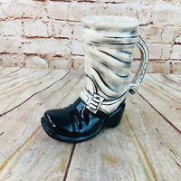Vintage McCoy Pottery USA Cowboy Boot Beer Stein Mug (6039)