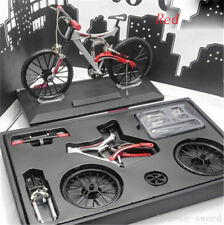 1/6 model, mountain bike, bicycle, 80 parts assembly, alloy material, 6 colors
