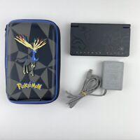 Nintendo DSi Pokemon Black Reshiram & Zekram Edition TWL-001 with Charger & Case