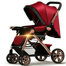 Baby stroller 3 in 1 foldable