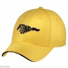 NEW ADJUSTABLE YELLOW FORD MUSTANG COBRA SVT GT PONY HAT/CAP! PATCH SAYS MUSTANG