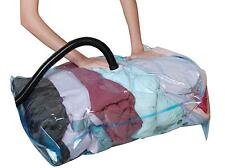 10 X  XXTRA LARGE VACCUM COMPRESSED STORAGE SPACE SAVER BAGS 80X110 CM-uk seller