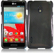 For LG Optimus F7 US780 HARD Protector Case Snap On Phone Cover Carbon Fiber