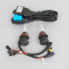 HID Headlight Light Bi-Xenon 9007-3 8000K Hi/Lo 35W Bulbs + Relay Wire Harness