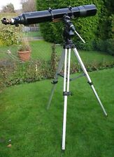 CELESTRON CR150 HD6 Refractor Telescope 9x50 with Finder & Tripod  Used HERTS