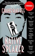 Native Speaker by Chang-Rae Lee (English) Trade Paperback Book