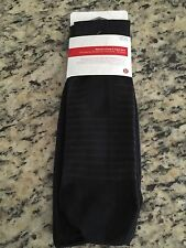 NWT Lululemon Keep It Tight Sock tight solid black white M/L 8-10