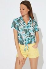 Chemisier Turquoise Jennyfer  Taille S ou 36