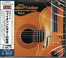 GYORGY TEREBESI, SONJA...-PAGANINI: VIOLIN UND GUITAR-JAPAN SACD Hybrid H00