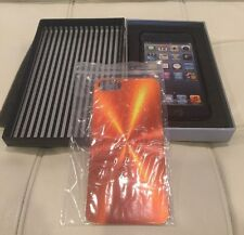 *NIB* Things Remembered Orange Metal Engravable iphone 5 case cover - New
