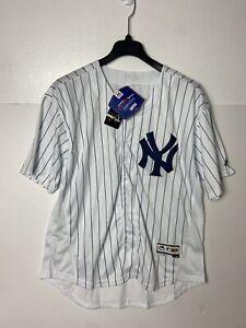 New York Yankees #99 Aaron Judge Majestic Flex Base Jersey Men's Size 48 M Sewn