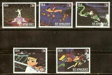 Mint St.vincent cartoons stamps Set (MNH)