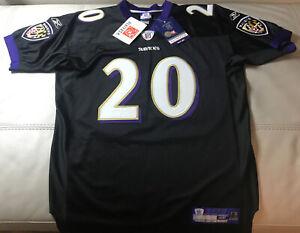NWT Authentic Sewn Reebok Baltimore Ravens Ed Reed alternative jersey 48 Medium