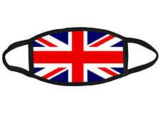 British UK flag Union Jack fabric face mask OSFM Adults & Kids