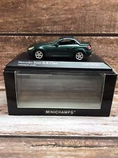 New ListingMinichamps 1/43 2004 Mercedes Benz Slk with operating roof - Boxed
