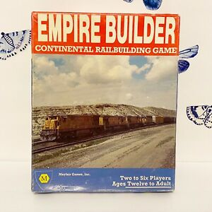 Empire Builder Continental Railbuilding Board Game 1984 Mayfair UNPUNCHED