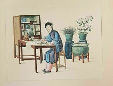 1924 Antique Steel Engraving of CHINA - 3 of 3