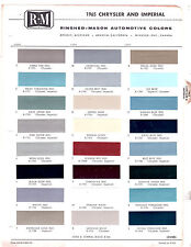 1965 CHRYSLER IMPERIAL NEW YORKER NEWPORT 300 65 PAINT CHIPS RINSHED MASON 4
