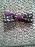 024 Vintage Beau Junior Childs Bow Tie Purple