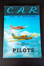 C.A.R. Civil Air Regulations and Flight Standards for Pilots 23rd Edition, 1961