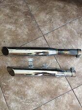 harley screamin eagle 2 performance mufflers exhaust fatboy 00+ softail shotgun