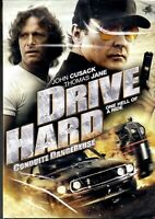 NEW DVD  - DRIVE HARD - John Cusack, Thomas Jane,