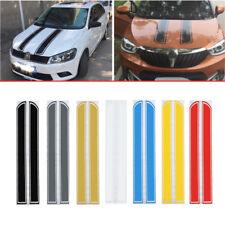 Universal Car Racing Body Stripe Pinstripe Hood Side Decals Vinyl Sticker Gray
